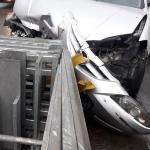 Accidente en la Autopista Norte