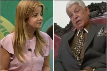 Elsa Noguera y Guillermo Rivera