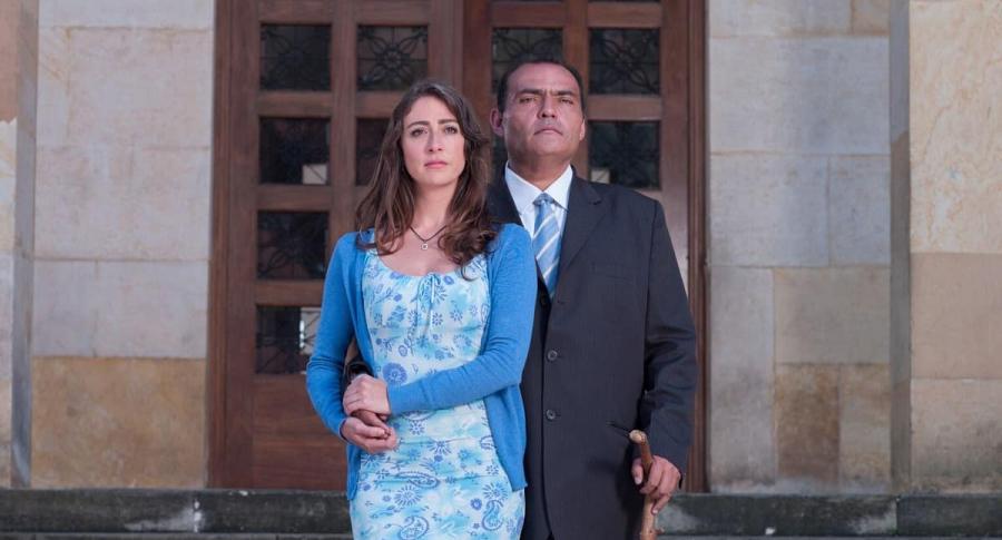 Verónica Orozco y Enrique Carriazo, actores.