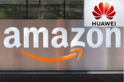 Amazon y Huawei