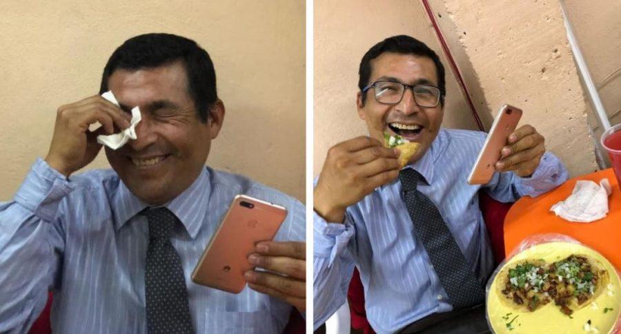 Promoción de comida gratis para usuarios que tengan Huawei