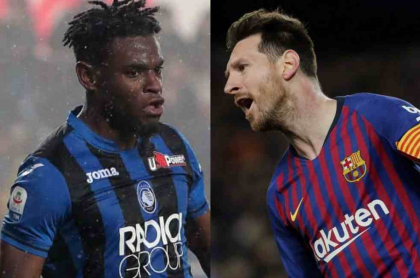 Zapata y Messi