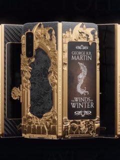 Prototipo de edición limitada de Galaxy Fold de Game of Thrones