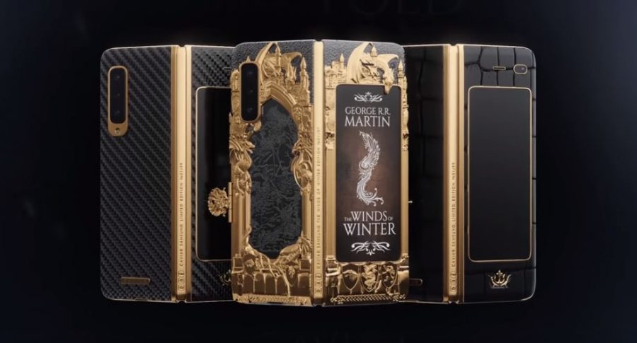 Prototipo de edición limitada de Galaxy Fold de Game of Thrones