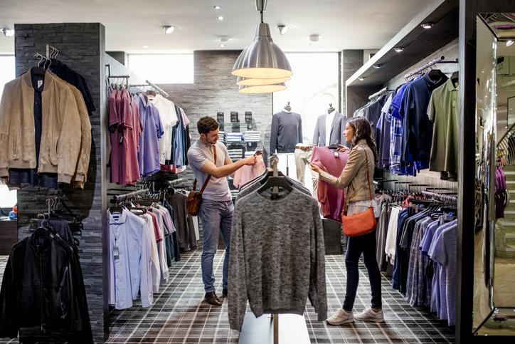 Compra de ropa