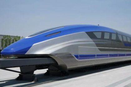 Prototipo tren maglev