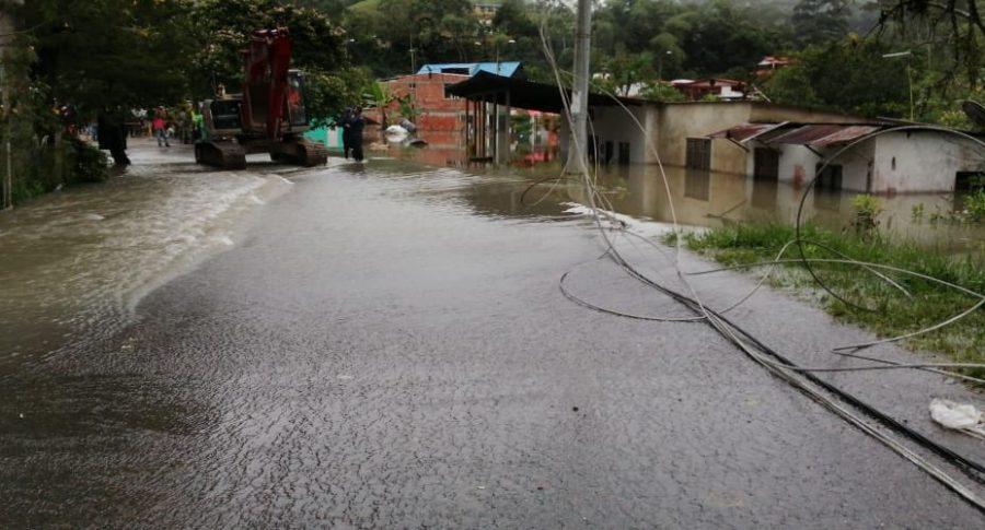 Emergencia en La Palma, Cundinamarca