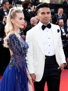 Falcao García y Lorelei Tarón
