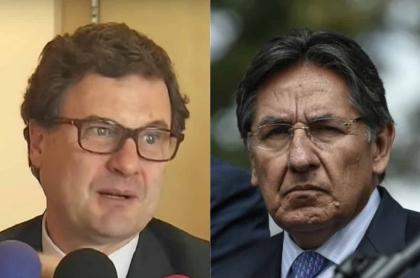 Luis Fernando Andrade y Néstor Humberto Martínez