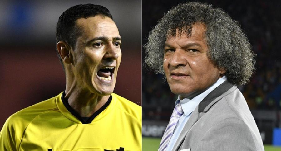 Wilmar Roldán y Alberto Gamero