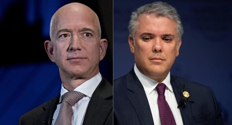 Bezos y Duque