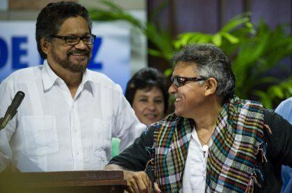 Iván Márquez y 'Jesús Santrich'