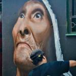 Grafitti en el Chorro de Quevedo