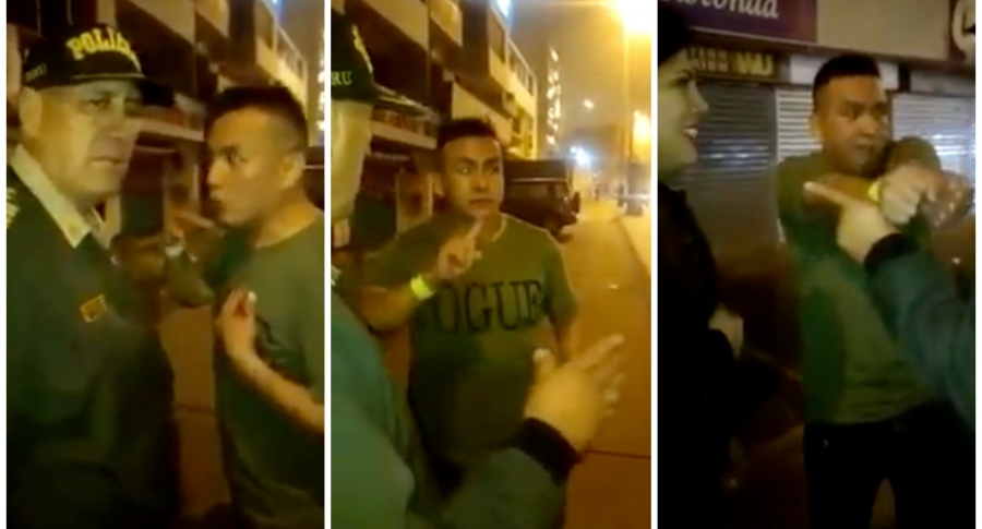 Borracho pide que lo arresten.