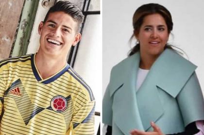 James Rodríguez y María Juliana Ruíz, primera dama de Colombia