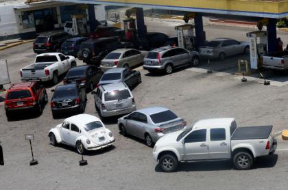 Filas por gasolina