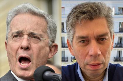 Álvaro Uribe y Daniel Coronell
