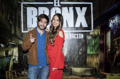 José Julián Gaviria y Rosmeri Marval, actores.