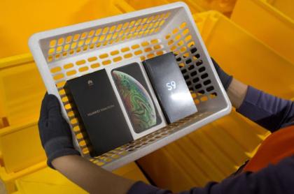 Samsung y Huawei