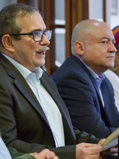 Jefes de partido Farc