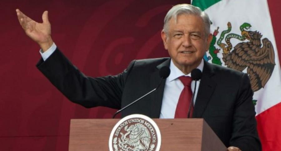 Andrés M. López, presidente de México.