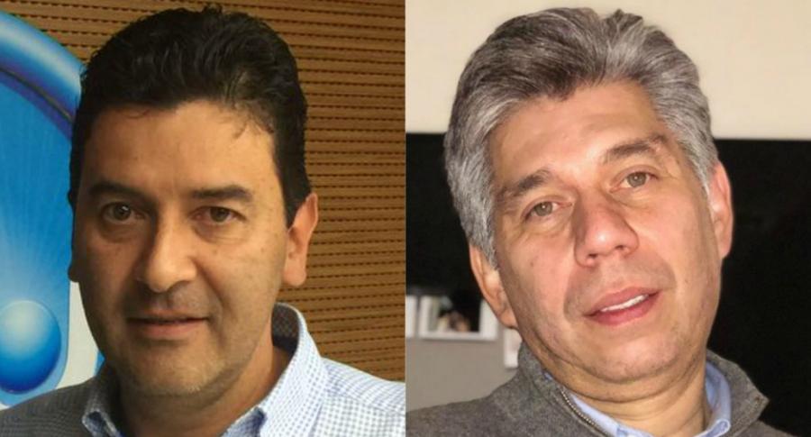 Néstor Morales y Daniel Coronell