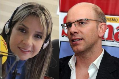 Vicky Dávila y Alejandro Santos