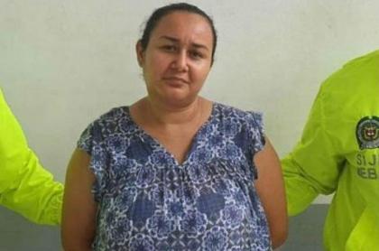 Mujer acusada de quemar al marido