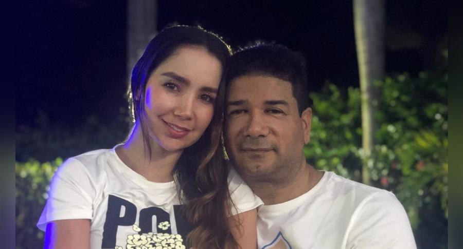 Paola Jara e Iván Calderón