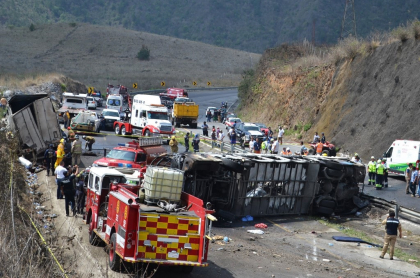 Accidente Veracruz México