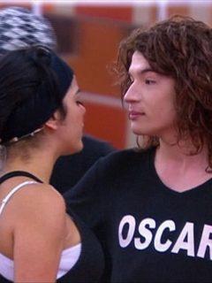 Óscar Naranjo y Elianis Garrido, exprotagonistas.