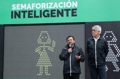 Nuevo sistema de semaforización inteligente en Bogotá