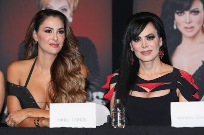 Ninel Conde y Maribel Guardia, actrices.
