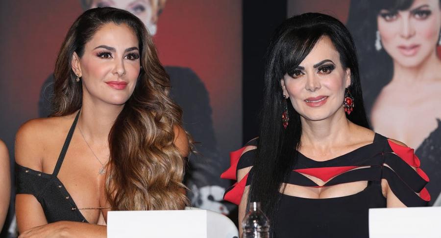 Ninel Conde y Maribel Guardia, actrices.