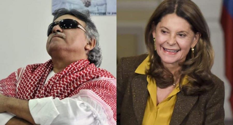 Santrich y Marta Lucía Ramírez