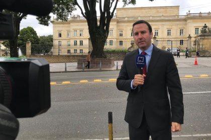 Felipe Arias, presentador.
