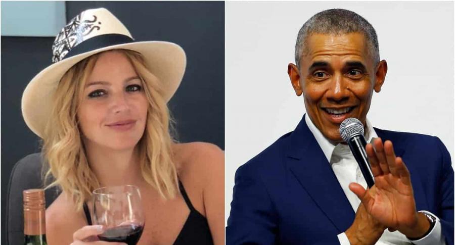 Johana Bahamón / Barack Obama