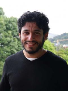 Santiago Alarcón, actor.