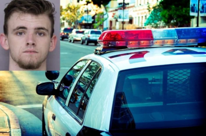 Hombre que escapó de la policía, en EE. UU.