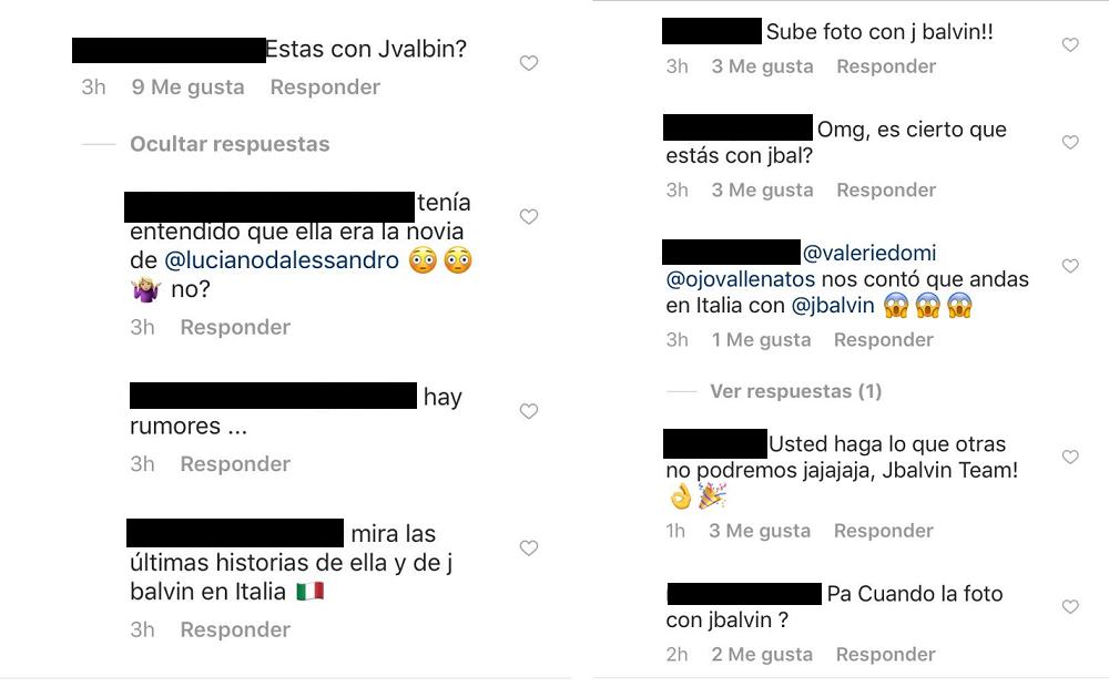 Comentarios a foto de Valerie Domínguez