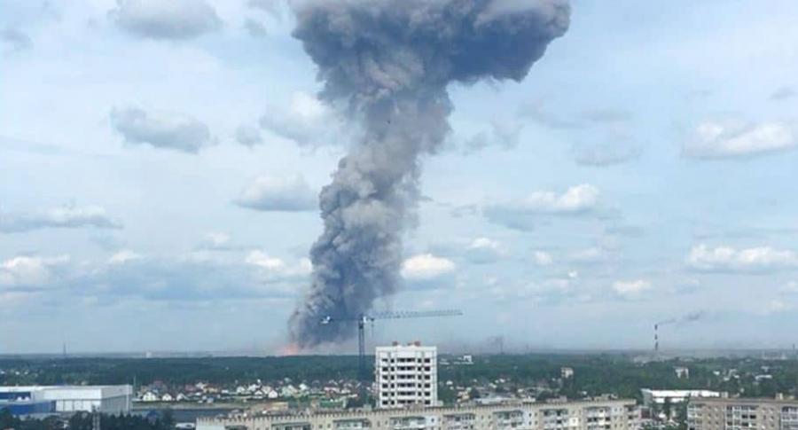 Explosión en Rusia