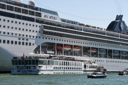 Crucero accidente Venecia