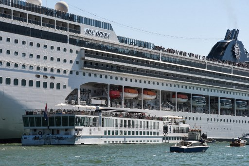 Crucero accidente Venecia