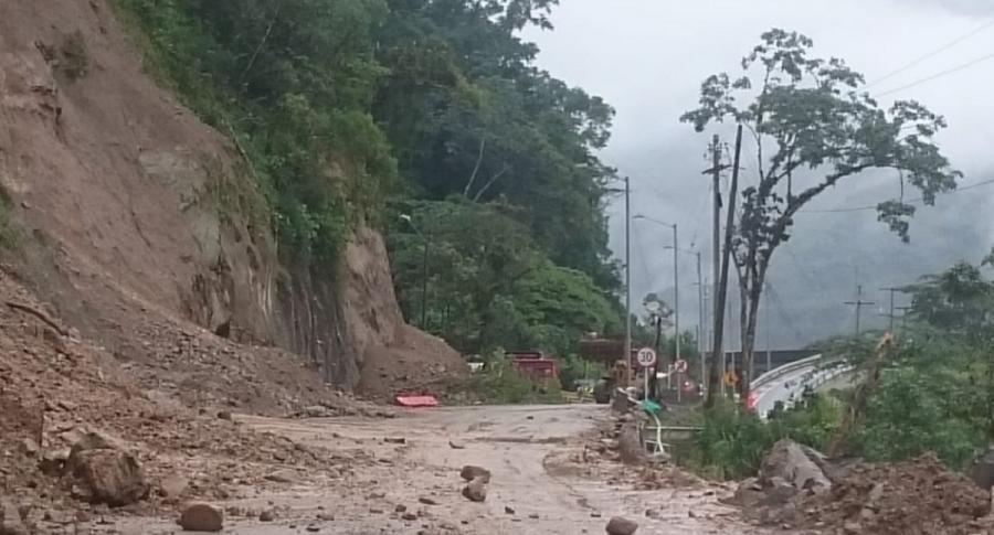 Vía Bogotá Villavicencio