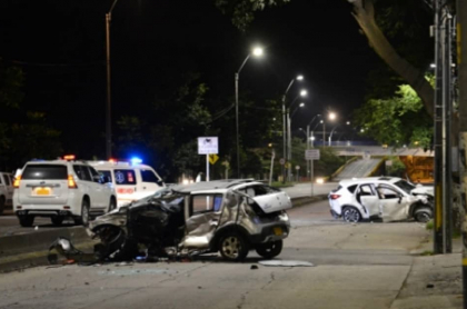 Accidente de tránsito en Cali