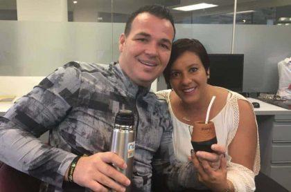 Pulpo Viera y esposa