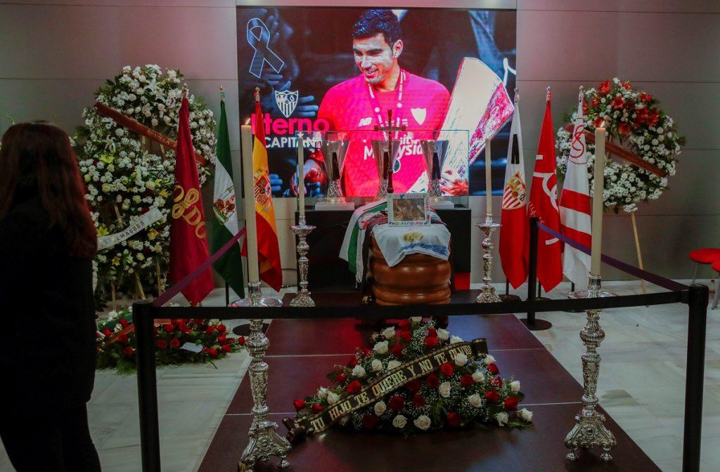 Funeral de José Antonio Reyes
