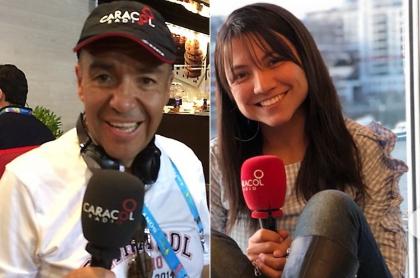 Chemas Escandón y Pilar Velásquez