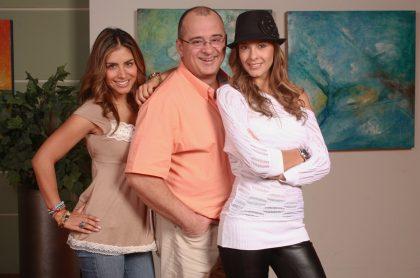 Jessica Cediel, Jota Mario Valencia y Laura Acuña, presentadores.