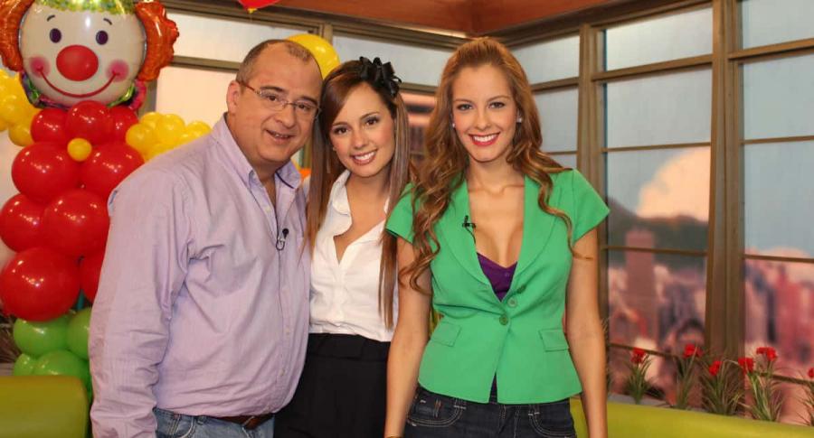 Jota Mario Valencia, Milena López y Laura Acuña